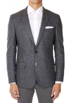 Single Breasted Virgin Wool blend blazer
