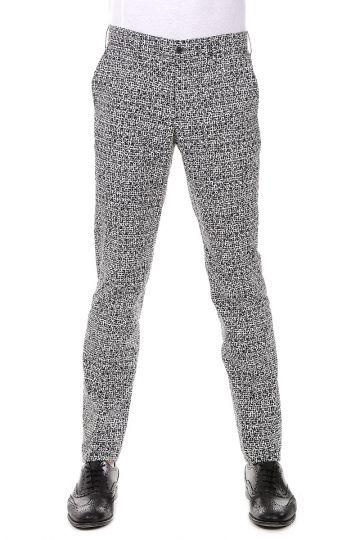 Pantaloni Stampati in Cotone