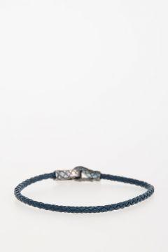 Leather & 925 Silver Bracelet