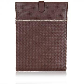 Woven Leather Tablet Case