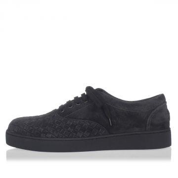 Sneakers in Camoscio Intrecciato