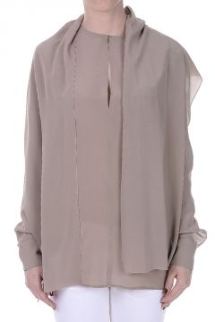 Silk Crepe Blouse