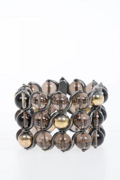 Silver and Quartz Bracelet