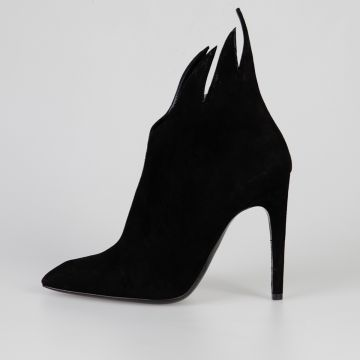 11 cm LUXE KID Suede Ankle Boots