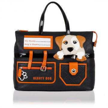 Borsa Shopper DOG a Mano