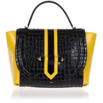 Leather Handbag Ginza
