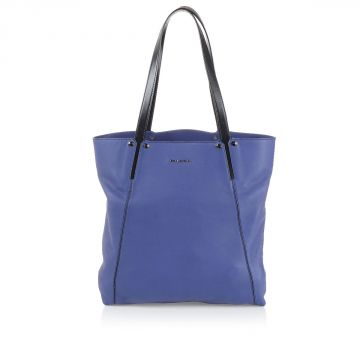 "Leather ""Willow"" Shopping Bag"