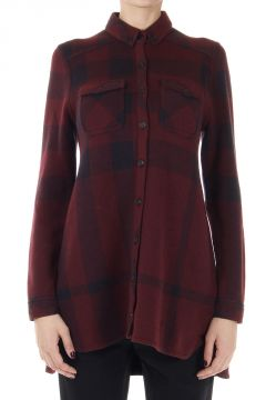 Camicia Cotone e Cashmere a Quadri