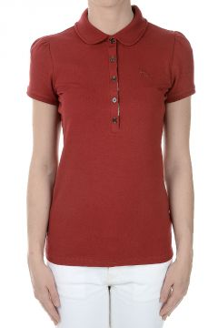 Short Sleeved Stretch Pique Cotton Polo Shirt