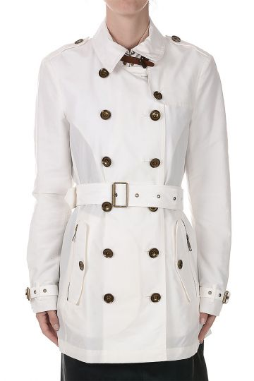 Cotton Blend Trench