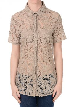 Cotton Blend Embroidered Blouse