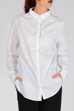 BURBERRY BRIT Camicia in Cotone Stretch