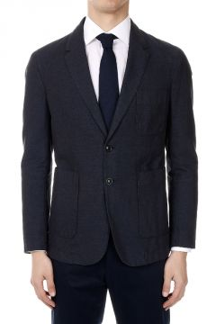 Blazer in Cotton and Linen