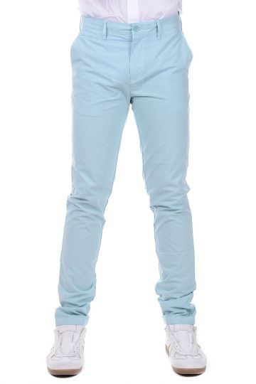 Pantaloni CHINO in Cotone Slim Fit