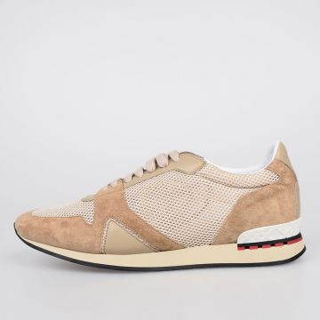 Suede Leather FIELD Low Sneakers