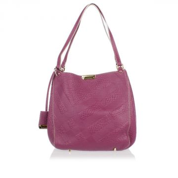 Borsa STITCHING CANTERBURY in Pelle