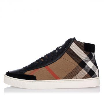 Sneakers Alte a Quadri