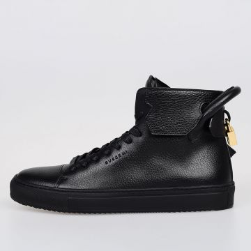 Leather 125MM High Top Sneakers