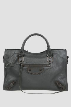 Leather Tote CITY Bag