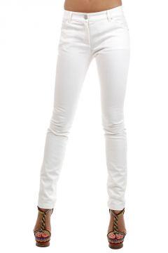 Pantaloni in cotone stretch 16 cm