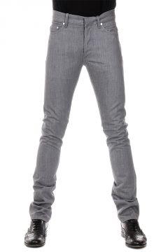 Jeans in Denim di Misto Cotone 19 cm