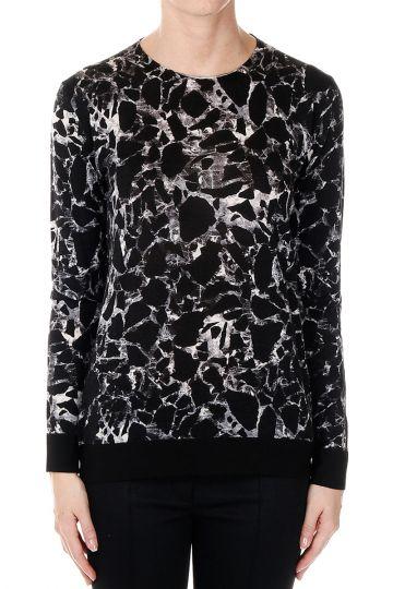 100% virgin wool V neck Sweater