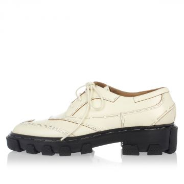 Leather BRILLANT DOUBLE Shoes