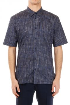 Geometric Printed Short Sleeve Shirt