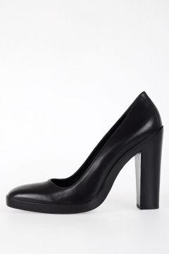 12cm Leather Decollette