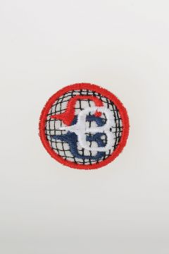 Embroidered Fabric Pin