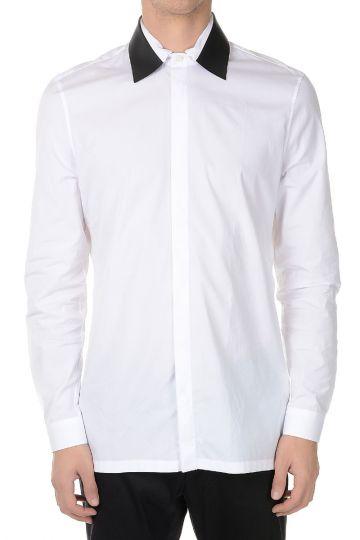 Camicia in cotone manica lunga