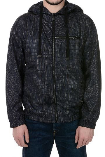 Printed Jacket in Fabric