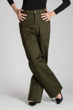 Pantalone Cargo in Cotone