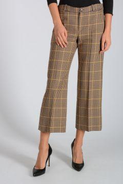 Pantaloni in Lana Vergine Pied de Poule