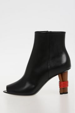 8cm leather Boots