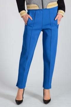 Pantalone Jogger con Zip alla Caviglia