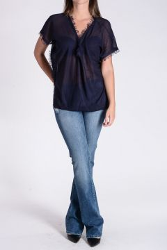 Asymmetric Cut Top