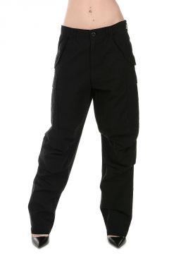 Pantaloni in Cotone Ricamati