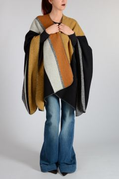 Virgin Wool COLTRINA MIANE Mantle