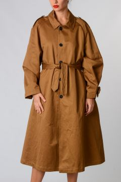 Long Coat With Belt