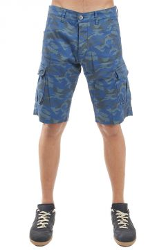 Shorts With Camouflage Print