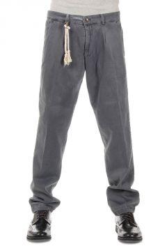 Pantalone Classico in Cotone Stretch