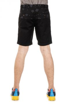 Shorts in Cotone Stretch con Stampa