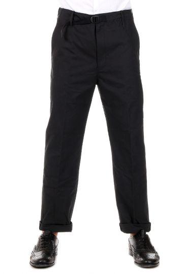 Pantaloni Loose Fit in Cotone