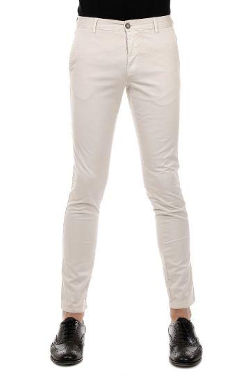 Pantaloni CHINO SLIM in Cotone Stretch