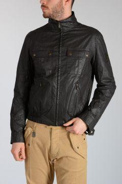 Coated Cotton SIX DAYS BOMBER Jacket