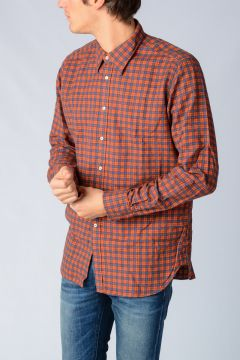 Checked Teo Cotton Shirt