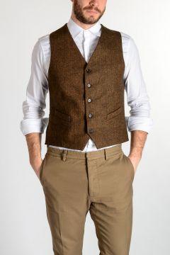 Wool Blend Vest