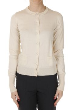 Cotton Round Neck Cardigan