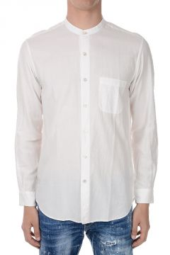 Cotton Shirt with Breast Pocket